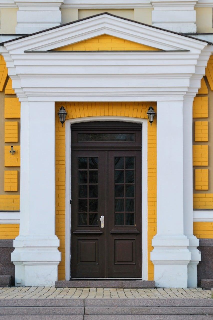 Drzwi na wzór zabytkowych - zewnętrzne
